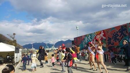 江田島市 牡蠣祭り